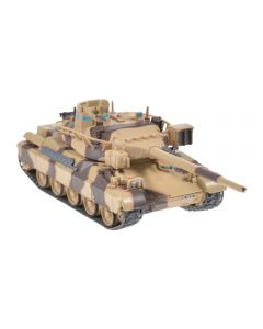 Macheta militara de colectie, masina de razboi minimodel Tanc AMX-30, Eaglemoss, camuflaj, Scara 1:72