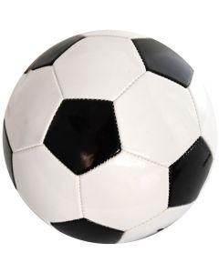 Minge de fotbal marimea nr. 5, Quasar, alb-negru