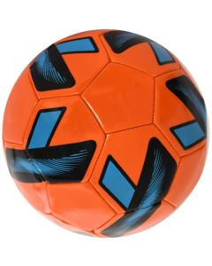 Minge de fotbal marimea nr. 5, Quasar, portocaliu-albastru