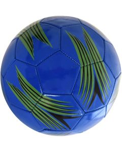 Minge de fotbal marimea nr. 5, Quasar, albastru-verde