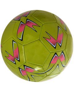 Minge de fotbal marimea nr. 5, Quasar, vernil-roz