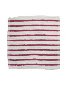 Covoras de baie, bumbac, Trendhopper, alb/roz, 90 x 60 cm