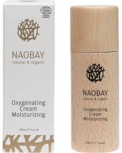 Crema de fata BIO hidratanta  oxigenanta  Naobay  50 ml