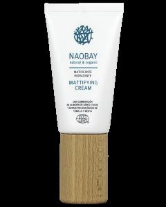 Crema de fata hidratanta BIO   matifianta pentru ten gras si predispus la acnee  Naobay  50 ml