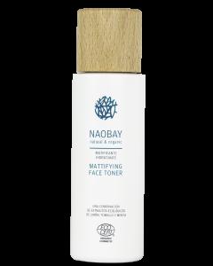 Lotiune tonica faciala BIO hidratanta si antioxidanta matifianta cu Aloe Vera pentru tenul gras  Naobay  200 ml