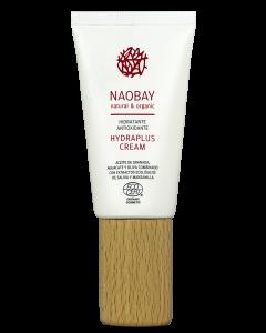 Crema de fata BIO hidratanta si antioxidanta cu extract de salvie pentru ten uscat  Hydraplus - Naobay  50 ml