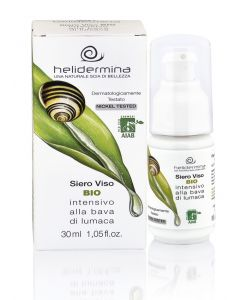 Serum facial regenerant cu extract de melc BIO  Helidermina. Testat dermatologic  La Dispensa  30 ml