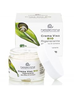 Crema de fata revitalizanta cu extract de melc BIO  Helidermina  La Dispensa  50 ml