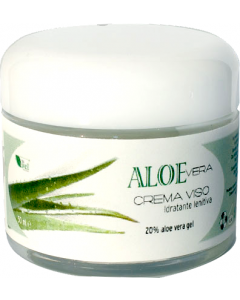 Crema hidratanta de fata cu 20% gel de Aloe Vera  La Dispensa  50 ml