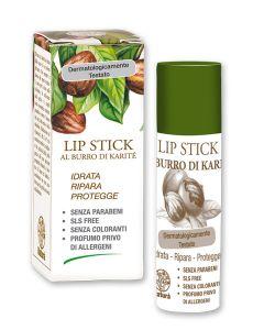Lip Stick hidratant si reparator cu Unt de Shea. Testat dermatologic  La Dispensa  15 ml
