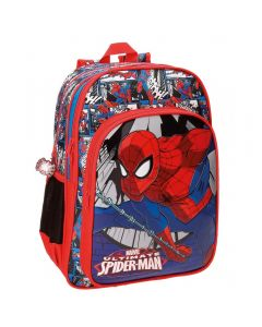 Ghiozdan scoala 40 cm 2 comp. Spiderman Comic