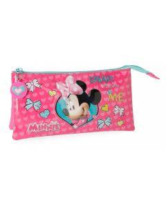 Penar 3 compartimente 23 cm Minnie Happy Helpers