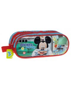 Penar 23 cm 2 compartimente Mickey Smile