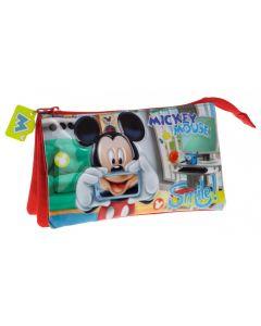 Penar 23 cm 3 compartimente Mickey Smile