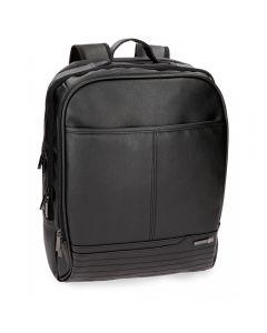 Rucsac cu compartiment laptop 42 cm Movom Texas negru