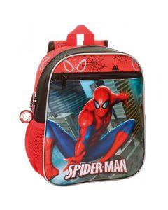 Ghiozdan gradinita 28 cm Spiderman City