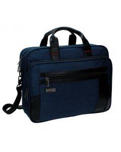Geanta pentru laptop 40 cm 2 comp. Movom Padding albastru