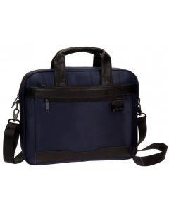 Geanta pentru laptop 40 cm BHPC Bolt albastru