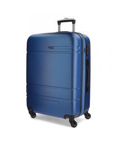 Troler ABS 68 cm 4 roti Movom Galaxy albastru