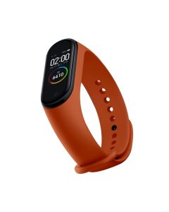 Bratara fitness inteligenta Xiaomi Mi Band 4, HR, display AMOLED, rezistenta la apa 5ATM, bluetooth 5.0, orange