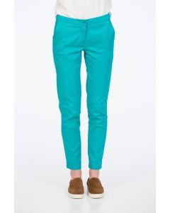 Pantaloni Be You, turcoaz