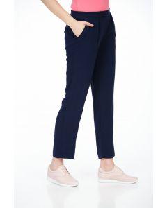 Pantaloni Be You, bleumarin