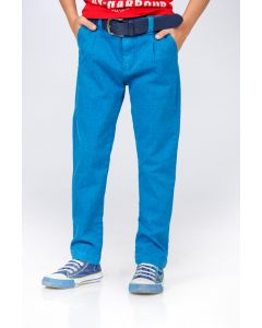 Jeans BE YOU  albastri pentru baieti