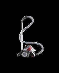 Aspirator fara sac Dirt Devil Rebel 54 HF DD5254-3 , 800W, 1.8 L, 3 accesorii, Filtru Hepa, Multi-Cyclonic, Gri Metalizat