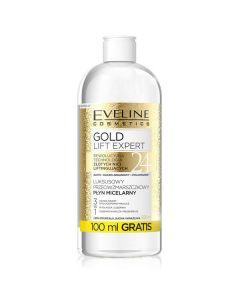 Apa micelara anti-rid, Eveline Cosmetics, Gold Lift Expert 3IN1, 500 ml