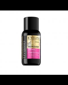 Dizolvant Profesional Pentru Gelul De Unghii, Eveline Cosmetics, Hybrid Professional, 150 ml