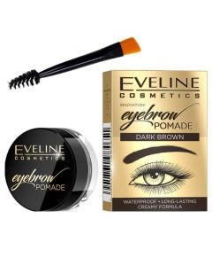 Crema pentru spracene, Eveline Cosmetics, Dark Brown, Waterproof, set