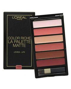 paleta6_rujuri_l'_oreal_paris_color_riche_la_palette_matte_nude,6g_0