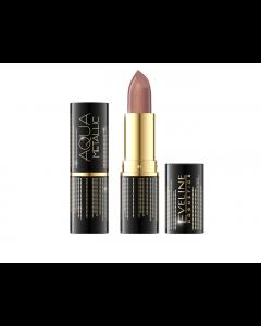 Ruj de buze Eveline Cosmetics Aqua Metallic nuanta 802