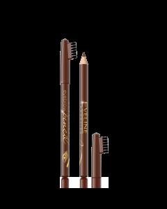 Creion pentru sprancene Eveline Cosmetics nuanta brown