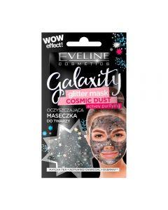 Masca de fata cu sclipici Eveline Galaxity Cosmic Dust 10 ml