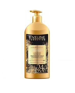 Lotiune de corp Eveline Cosmetics Luxury Expert 24K Gold 350 ml