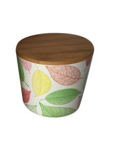 Recipient pentru depozitare  din fibre de bambus  cu capac , Grunberg
