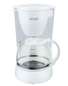 Filtru de cafea Victronic VCM603 , Putere -800W Alb/Negru