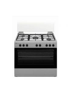 Aragaz Studio Casa Gran Cucina GC90 Ix, 5 arzatoare gaz, Cuptor pe gaz, 90 x 60 cm, Wok, Rotisor, Grill electric, Aprindere electrica, Valve de siguranta
