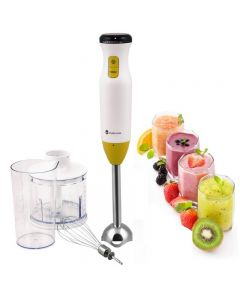 Blender vertical cu accesorii Studio Casa HB18.4 United Colors of Cities, 600W, 600 ml , turbo , Multicolor