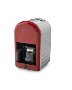 Filtru de cafea Retro 70 Studio Casa , 1.25 l, 1000 W, Red / Inox