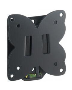Suport Tv fix, Meliconi, de perete ptr device de pana la 25 inch, Produs in Italia,  Vesa 75 - 100  protectie cauciuc