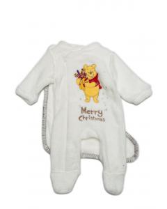 Pijama Crăciun 3 piese bebe Winnie  3/36 luni