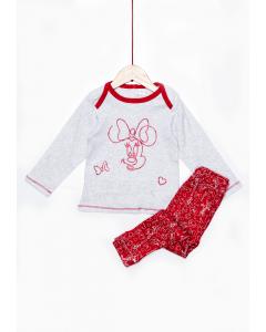 Pijama bebe Minnie 6/36 luni