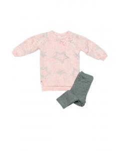 Set rochie și colanți bebe 6/36 luni