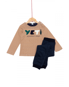 Tricou și pantaloni bebe 6/36 luni