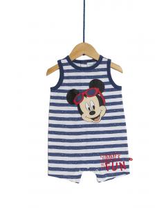 Salopetă noapte bebe 3/36 luni Mickey