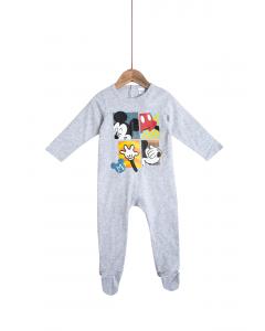 Salopetă noapte mânecă lungă bebe 3/23 luni Disney