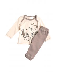 Pijama mânecă lungă bebe 9/36 luni Disney