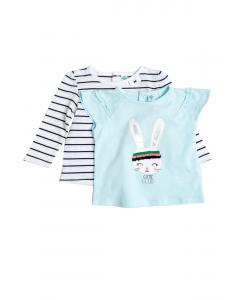 Set tricouri bebe 6/36 luni